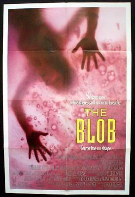 The Blob Original 1988 1 Sheet Poster Kevin Dillon Shawnee Smith