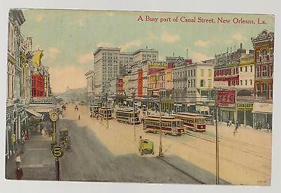 1912 Canal Street New Orleans Louisiana LA Picture Postcard Cover
