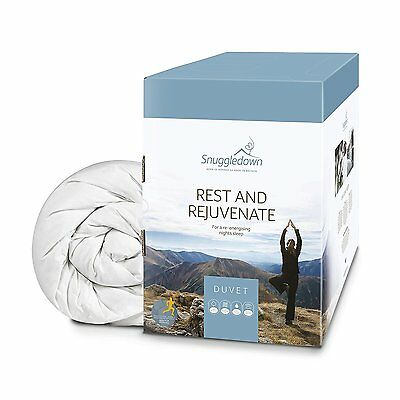 Snuggledown Rest and Rejuvenate Duvet, White, 10.5 Tog, King