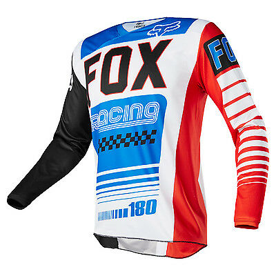 2017 Fox MX Mens 180 Race Jersey - Fiend Limited Edition Motocross Offroad Trail