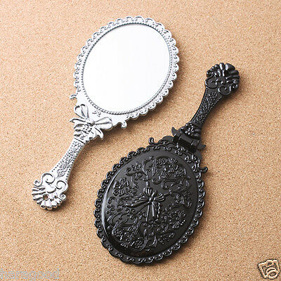 hand mirror (Smalll size) Tabletop Makeup Cosmetic Compact Pocket Home Glass AD