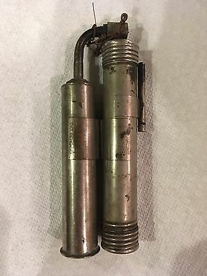Vintage 1920's ?lenk Automatic? Selfblo Alcohol Blowtorch One Of A Kind Rare!!!