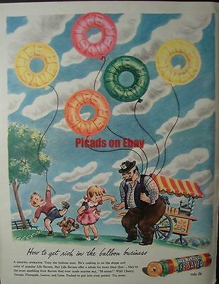 1944 Life Savers Tony the Balloon Man Cashing In by: Mac Shepard