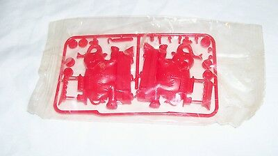 1969 R&L ZOO CHOO TRAIN Elephant CEREAL BOX PREMIUM KELLOGG MIP Animal Camel RED