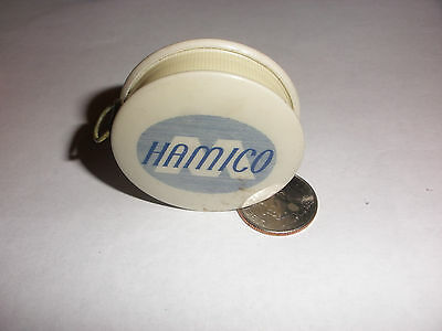 Rare antique advertising Hamico chemicals oils creases Miller co measuring tape