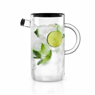 New Eva Solo Glass Jug Water Pitcher Glasses Juice  Drip Free Dishwasher Safe