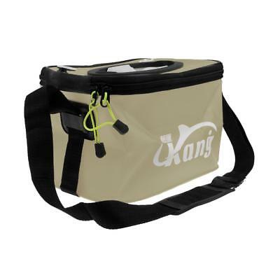 EVA Fishing Water Bucket Fish Pail Outdoor Foldable Folding Collapsible