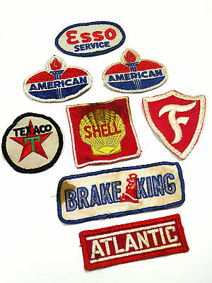 Vintage Petroliana Gas Oil Automotive Patches Atlantic Texaco Firestone Shell