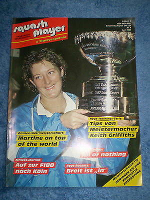 Squash player & Fitness - Journal Nr.4 April 1989