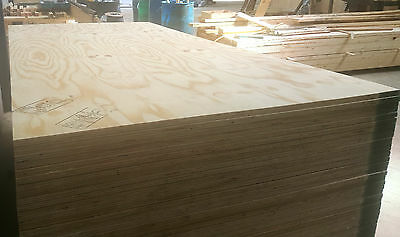 12mm Thick x 2.44m x 1.22m Exterior Grade wbp Softwood Ply board Good Quality