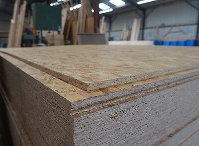 11mm OSB3 Sterling Board (2440x1220x11mm) Oriented Strand FSC Structural Sheets