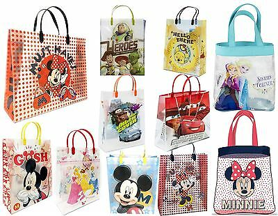 Disney Mickey Minnie Mouse Cars Princess Frozen Toy Story Kids Shopper Gift Bag