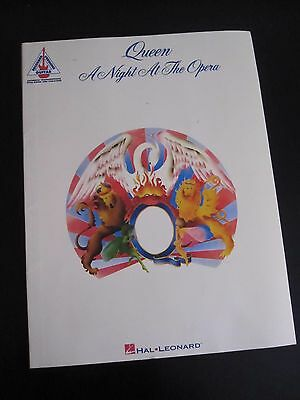 QUEEN : A Night At The Opera - Guitar Tablature Hal Leonard Music Tab Song Book