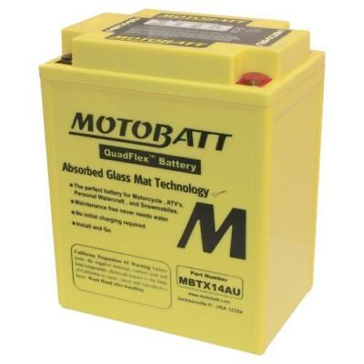New Motobatt Battery For Polaris Sportsman EPS, X2, Touring 550cc 10 11 12 13 14