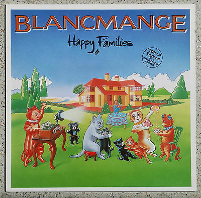 Blancmance _ Happy Families  --  Cover und Vinyl in near mint  -  London 6.25.41