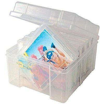 Photo Cases Holder Storage Keeper Clear Box 600 Pictures Protection Individual H