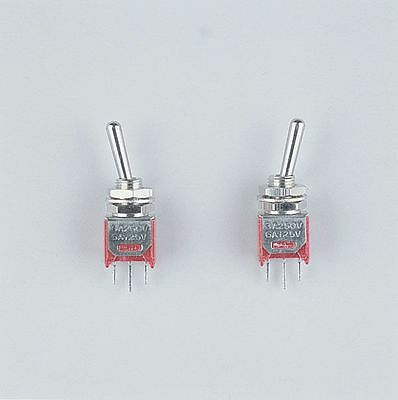 Wedico Small Toggle Switches. 2pcs