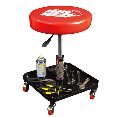 Torin TR6350 Red Deluxe Pneumatic Shop Seat