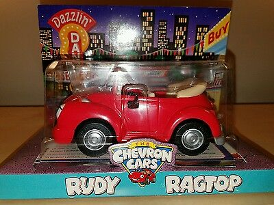 Chevron The Chevron Cars Rudy Ragtop New Retired Sealed Mint 1997