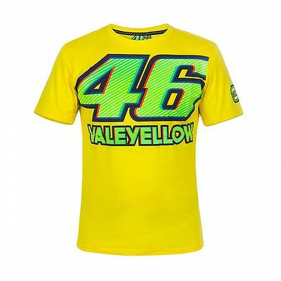 2017 Official Valentino Rossi Yellow 46 T'Shirt - VRMTS 261701
