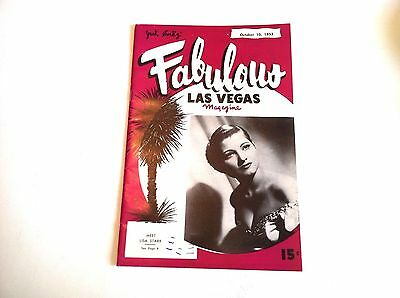""" FABULOUS LAS VEGAS ""  Magazine October 10, 1953 Vol. 5, Number 27 SINATRA,More"