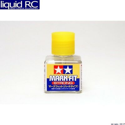 Tamiya USA TAM87135 Mark Fit Strong Solvent 40ml Bottle