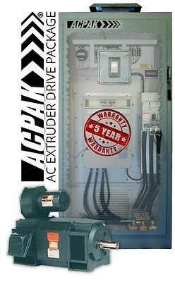 Ac Extruder 150Hp Drive & Motor Package