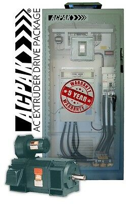 Ac Extruder 300Hp Drive & Motor Package