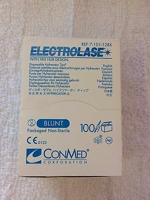 ConMed Electrolase Disposable Hyfrecator Tips, Ref. 7-101-12BX, Box of 100