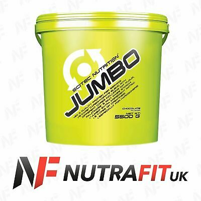 SCITEC NUTRITION JUMBO 5500g whey protein BCAA mass gainer