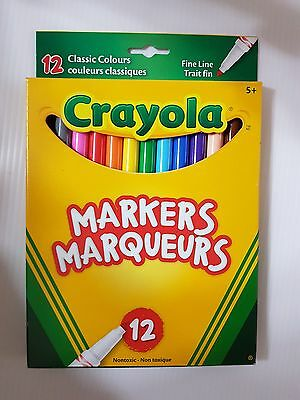 Crayola Markers (12 pack)