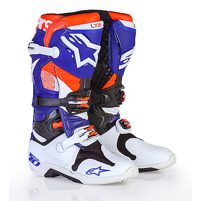 2017 Alpinestars Tech 10 Motocross Boots - Indianapolis SX Limited Edition Motoc