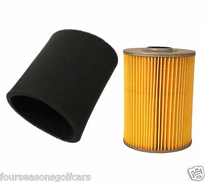 Air Filter & Pre Filter For Yamaha G2 G8 G9 G11  Golf Cart 1985-1994 4 Cycle Gas
