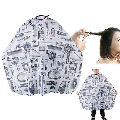 Professional Hair Cutting Cape Salon Hairdressing Hairdresser Gown Barber Cloth