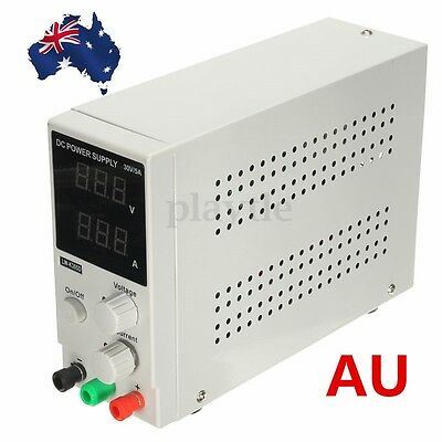 AU Switching DC Power Supply Adjustable Variable Precision 0~30V 0~5A Lab DD NEW