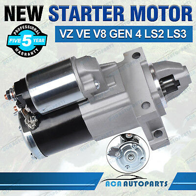 Starter Motor for Holden Commodore Gen 4 VE VZ LS2 LS3 V8 6.0L Petrol HSV Maloo