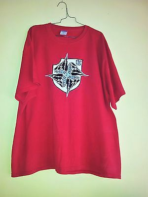 Anthrax [Band] T Shirt Red 120cm Chest