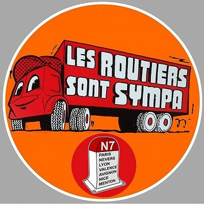 "Sticker "" LES ROUTIERS """
