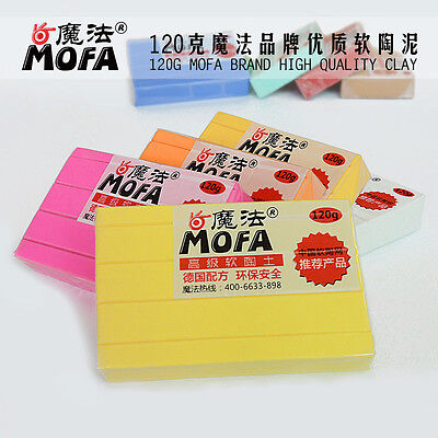 41 COLORS FIMO EFFECT 120g POLYMER MODELLING - MOULDING OVEN BAKE CLAY PASTEL &