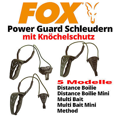 Fox Power Guard Powerguard - Futterschleuder mit Knöchelschutz - 5 Modelle