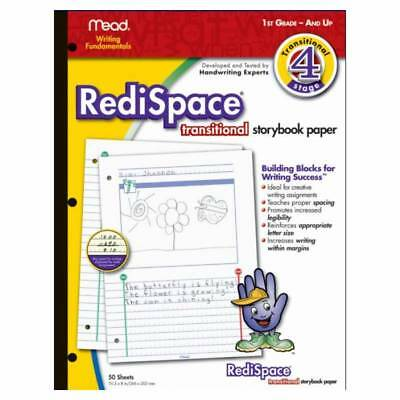 Mead Writing Fundamentals - RediSspace Transitional Storybook Paper