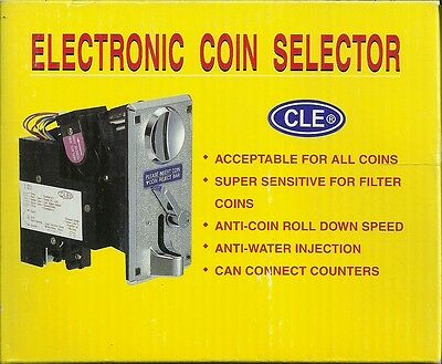 "Electronic Coin Selector ""new"""