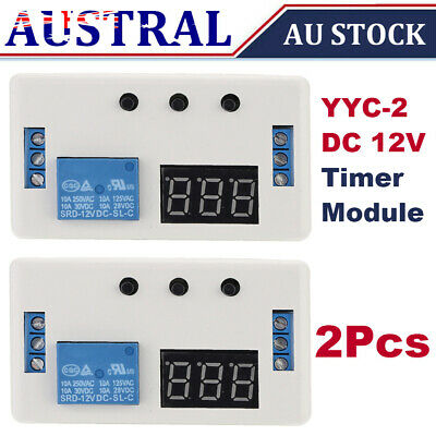 DC 12V Voltage Detection Charging Discharge Monitor Relay Switch Control Board