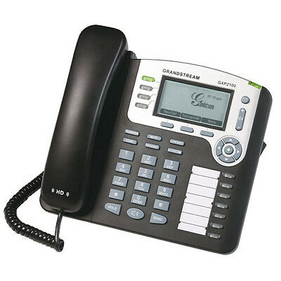 Grandstream GXP2100 Mainstream 4-Line IP Programable HD Business Speaker Phone