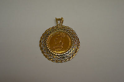 1887 Full Sovereign in a 9ct Mount