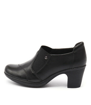New Planet Bea Black Womens Shoes Casual Shoes Heeled