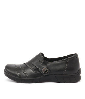 New Planet Jess Black Womens Shoes Casual Shoes Heeled