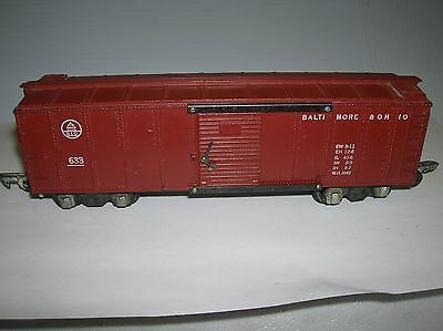 American Flyer B&O Box car # 633 , used no box lot # 10621