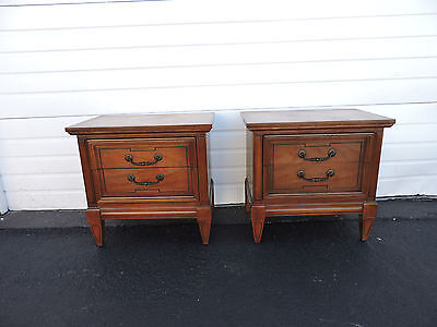 Dixie Pair of Nightstands / End Tables 6867