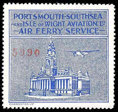 Great Britain - Semi-Official Airmail - Portsmouth-Southsea & Isle of Wight 1934